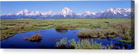 Wy Canvas Print - Grand Teton Park, Wyoming, Usa by Panoramic Images
