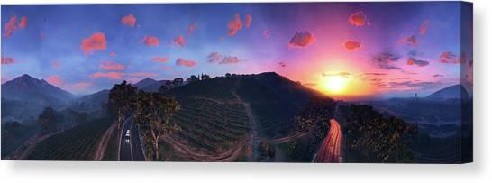 Grand Theft Auto Canvas Print - Grand Theft Auto V by Barbara Elvins