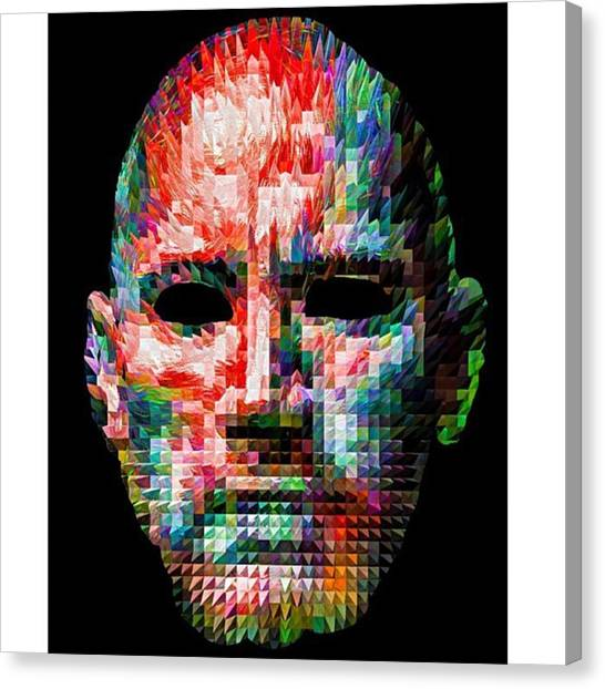 Kids Canvas Print - Guess This Person. Do You Know Who It by David Haskett II