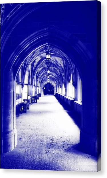Yale University Canvas Print - Halls Of Yale by Library Of Congress