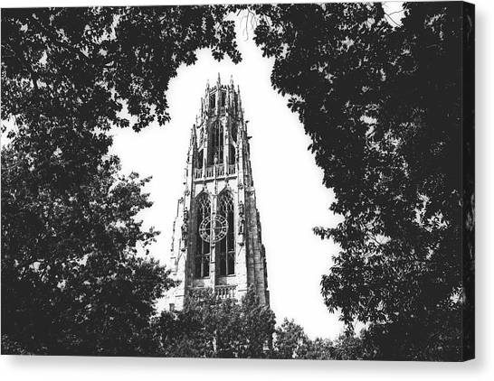 Yale University Canvas Print - Harkness Tower, Yale University by Library Of Congress