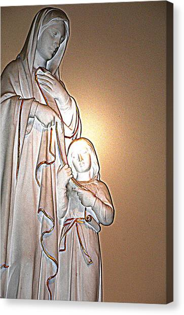 Immanuel Canvas Print by Terence McSorley