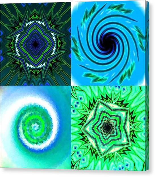 Fractal Canvas Print - In No Particular Order by Nick Heap