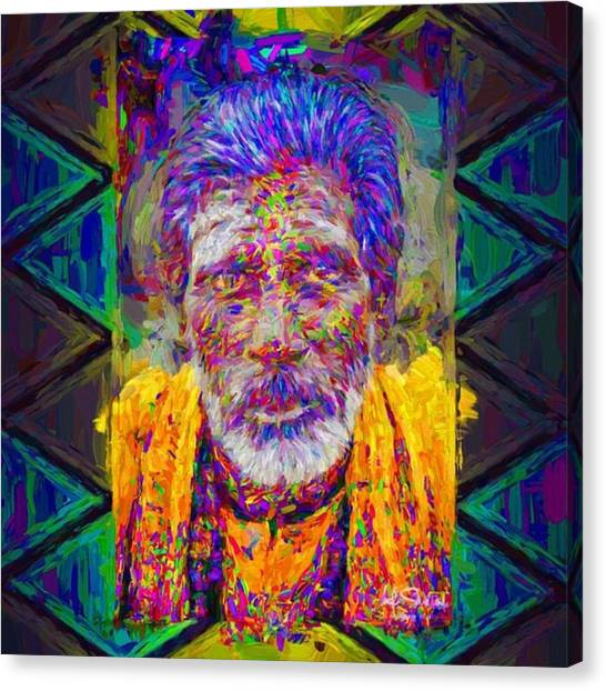 Celebrities Canvas Print - #india #asia #celebrity #love #fineart by David Haskett
