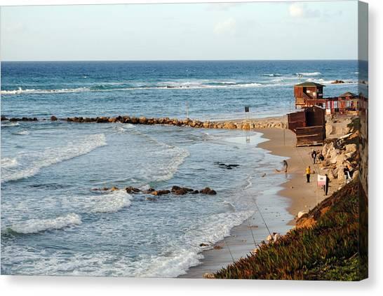 Jaffa Beach 7 Canvas Print