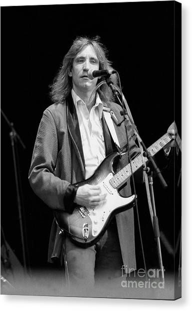 Ringo Starr Canvas Print - Joe Walsh  by Concert Photos