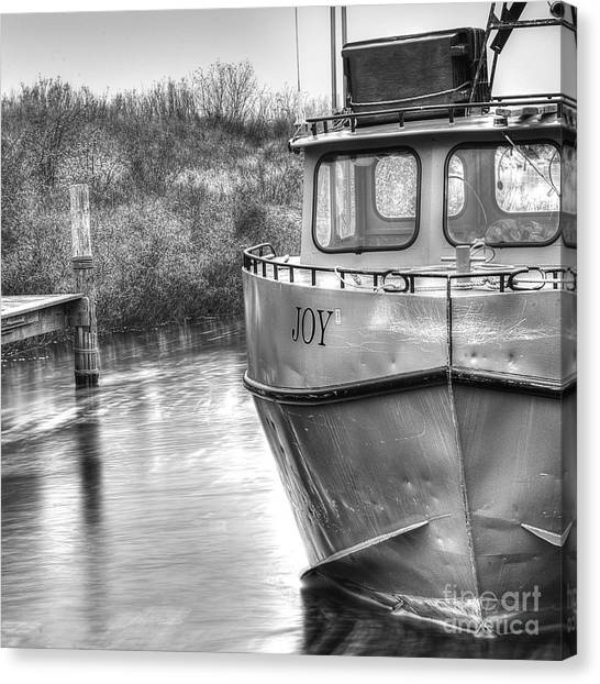 Tugboats Canvas Print - Joy In Leland by Twenty Two North Photography