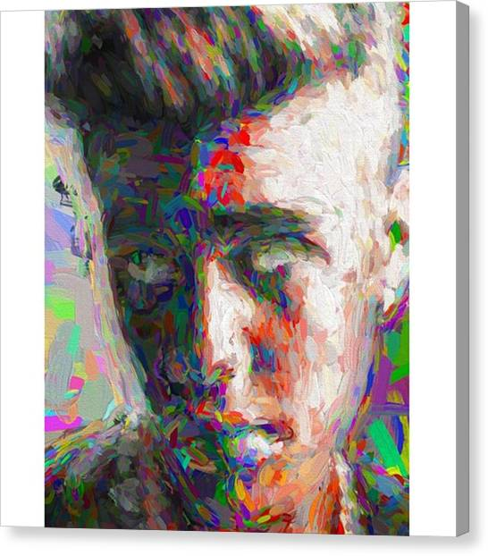 Painters Canvas Print - #justinbieber @justinbieber by David Haskett II