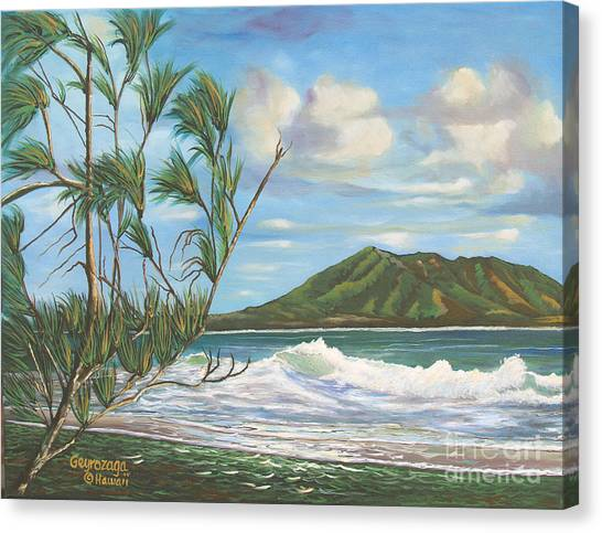 Kaneohe Bay Canvas Print