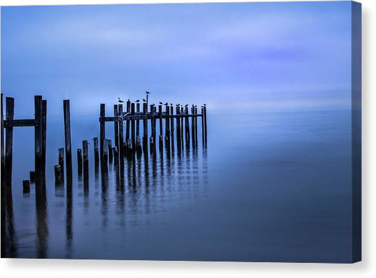 Colorful Overcast At Twilight Canvas Print