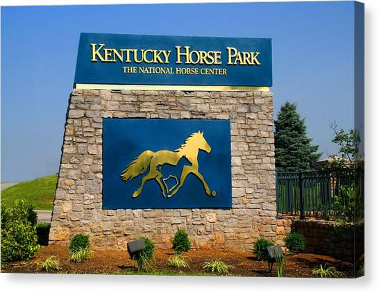 Kentucky Horse Park Canvas Print