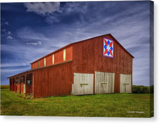 Kentucky Quilt Barn Canvas Print