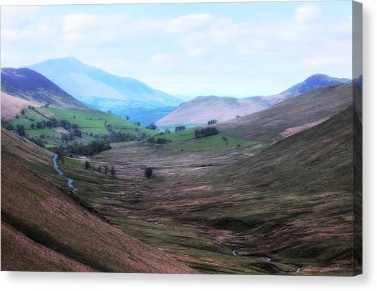 Keswick Canvas Print - Keswick - Lake District by Joana Kruse