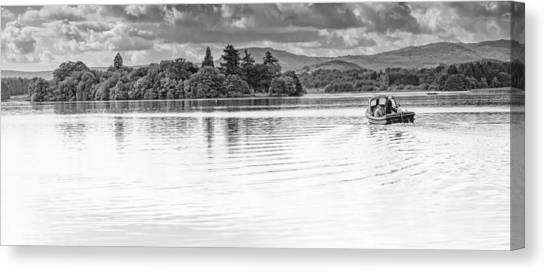 Lake Of Menteith Canvas Print