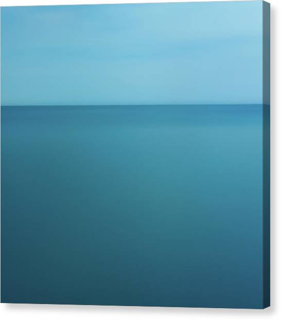 Lake Ontario - Abstarct Photography Canvas Print