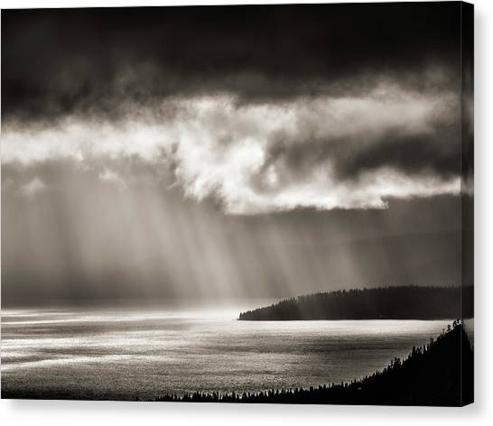 Lake Tahoe Storm Canvas Print