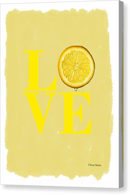 Lemons Canvas Print - Lemon by Mark Rogan