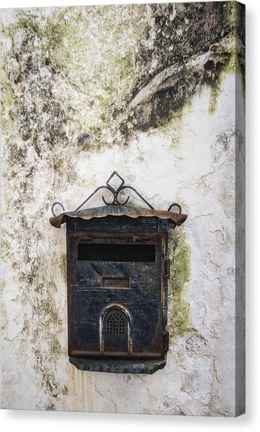 Mail Boxes Canvas Print - Letter Box by Joana Kruse