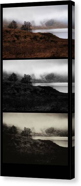 Canvas Print featuring the photograph Loch Arklet by Jeremy Lavender Photography