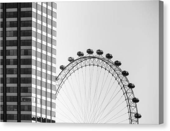 London Canvas Print - London Eye by Joana Kruse
