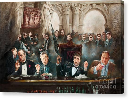 Scarface Canvas Print - Mafia by Mafia