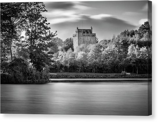 Mains Castle East Kilbride, Scotland Canvas Print