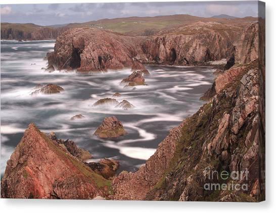 Mangersta Coastline Canvas Print