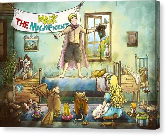 Mark The Magnificent Canvas Print