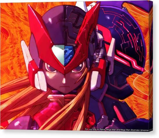 Mega Man Canvas Print - Mega Man by Kayle Arcus