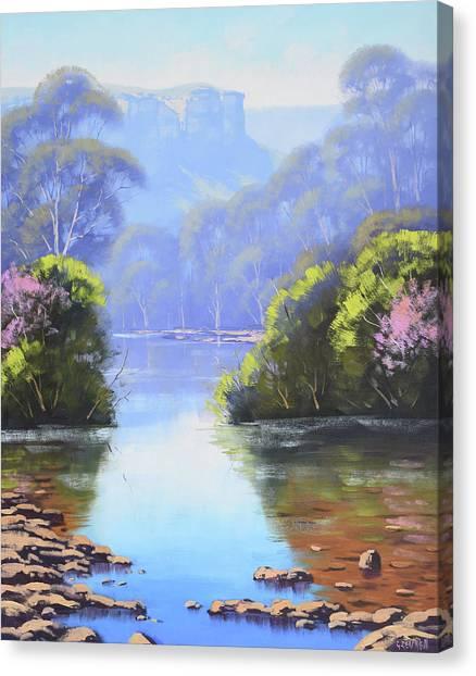 Mountain Canvas Print - Megalong Creek by Graham Gercken