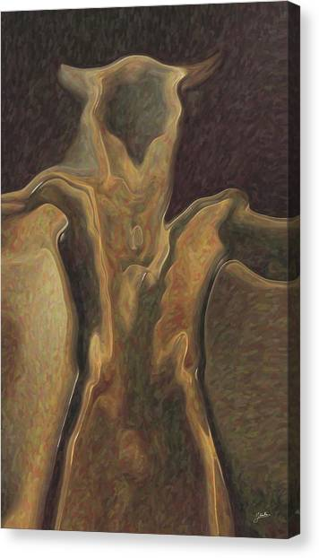 Minotaurs Canvas Print - Minotaur  by Quim Abella