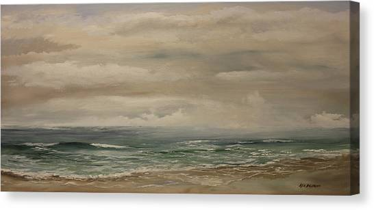 Morning Surf Canvas Print
