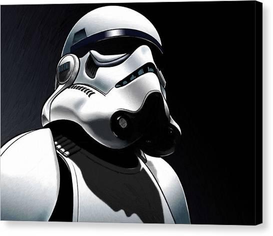 Obi-wan Kenobi Canvas Print - Movies Star Wars Art by Larry Jones