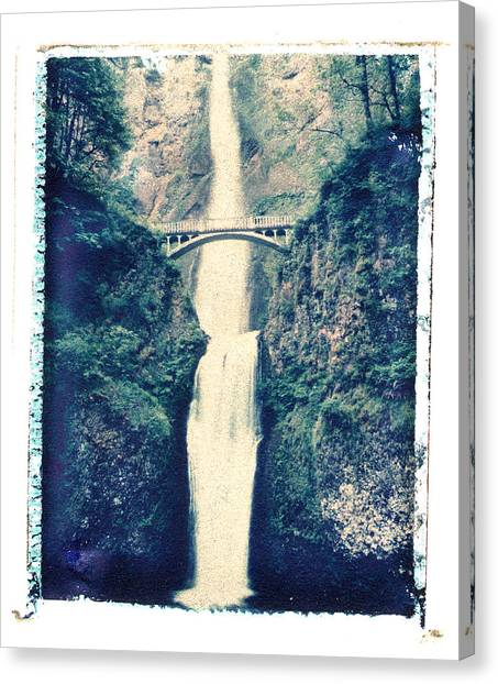 Multnoma Falls Canvas Print