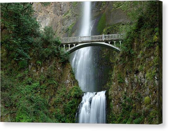 Multnomah Falls Canvas Print by Eric Foltz