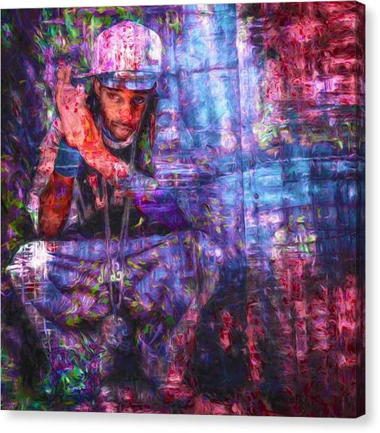Bands Canvas Print - @murphyleevsjaye #murphylee #stlunatics by David Haskett II