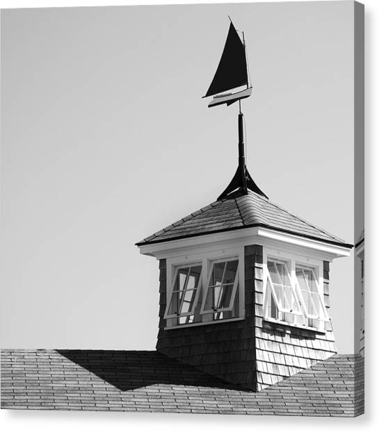 Nantucket Weather Vane Canvas Print