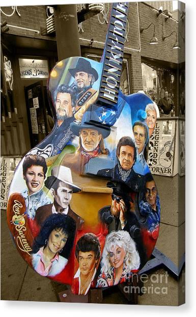 Nashville Honky Tonk Canvas Print