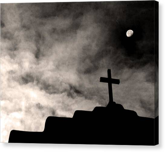 New Mexico Moon Canvas Print