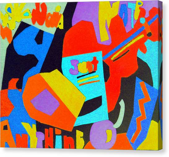 Note Just Anything Canvas Print by Stephen Davis