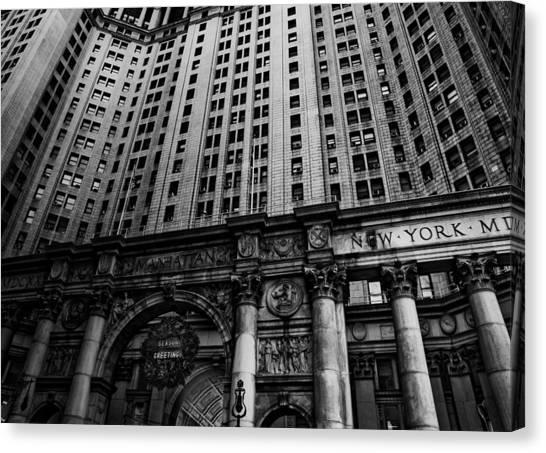 Nyc Buildings Canvas Print by Patrick  Flynn