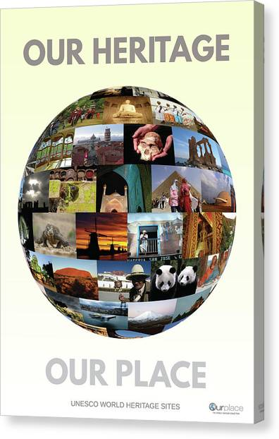Conservation Canvas Print - Our Heritage Our Place by OurPlace World Heritage