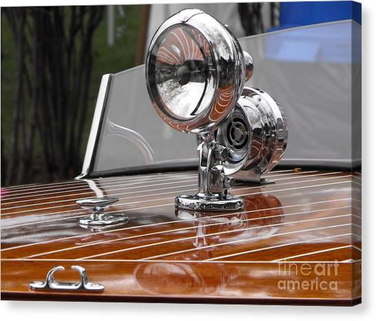 Outboard Runabout Canvas Print