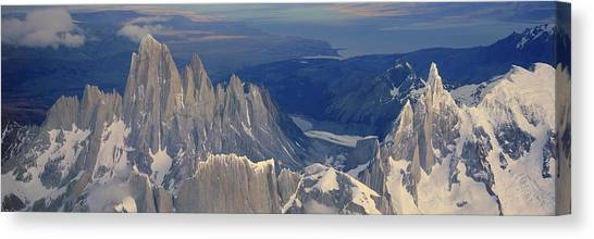 Andes Mountains Canvas Print - Panoramic Aerial View At 3400 Meters by Panoramic Images