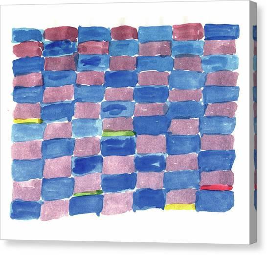Jasper Johns Canvas Print - Paul Klee Flying Continental by Kevin Callahan
