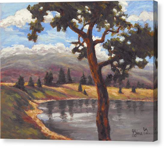 Pinon View Canvas Print