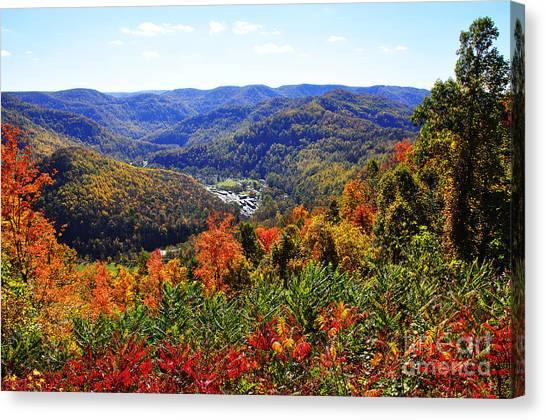 Point Mountain Overlook Canvas Print