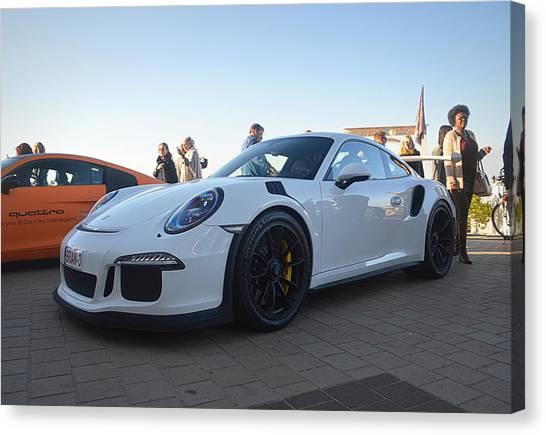 Porsche Canvas Print - Porsche 911 Gt3rs by Sportscars OfBelgium