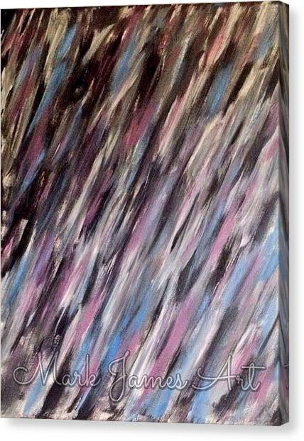 Purple Rain Canvas Print by Mark James