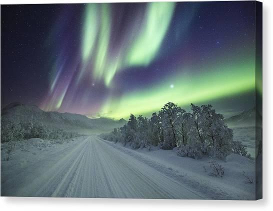 Road View Canvas Print